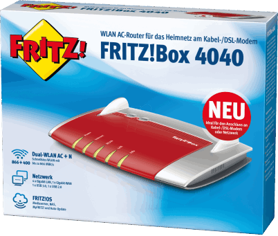 FRITZ!Box 4040 WLAN Router